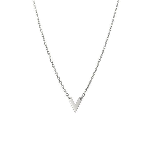 Naszyjnik azymut srebrny v